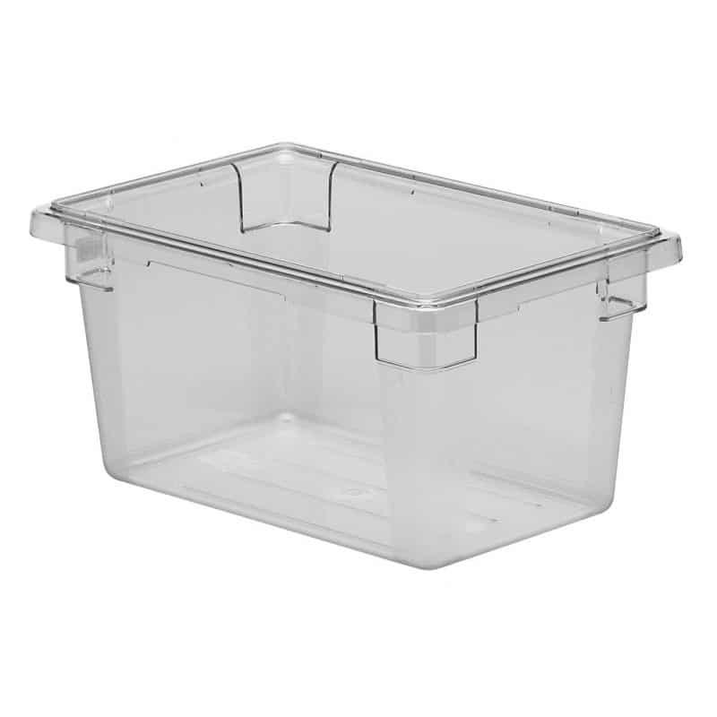 caja de almacenamiento de policarbonato 30.5x46x23cm de 18l