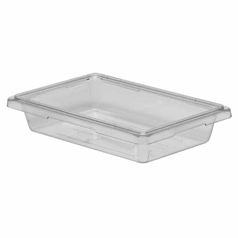 caja de almacenamiento de policarbonato 30.5x46x9cm de 6.6l