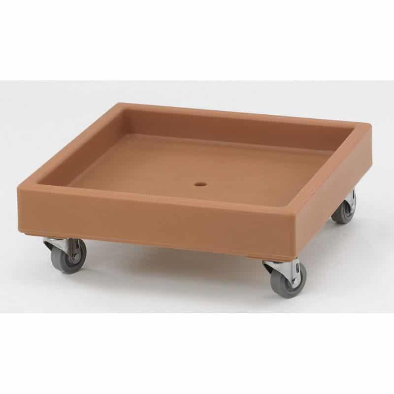 carro de transporte Camdollie para cestas de lavado 57x57x21cm