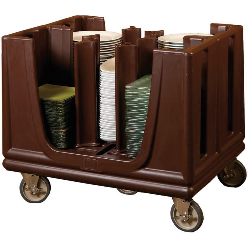 carro para platos con 5 ruedas platos hasta 33cm