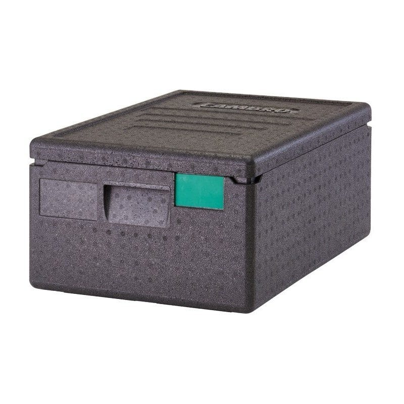 contenedor isotermico con apertura superior CAM gobox polipropileno expandido