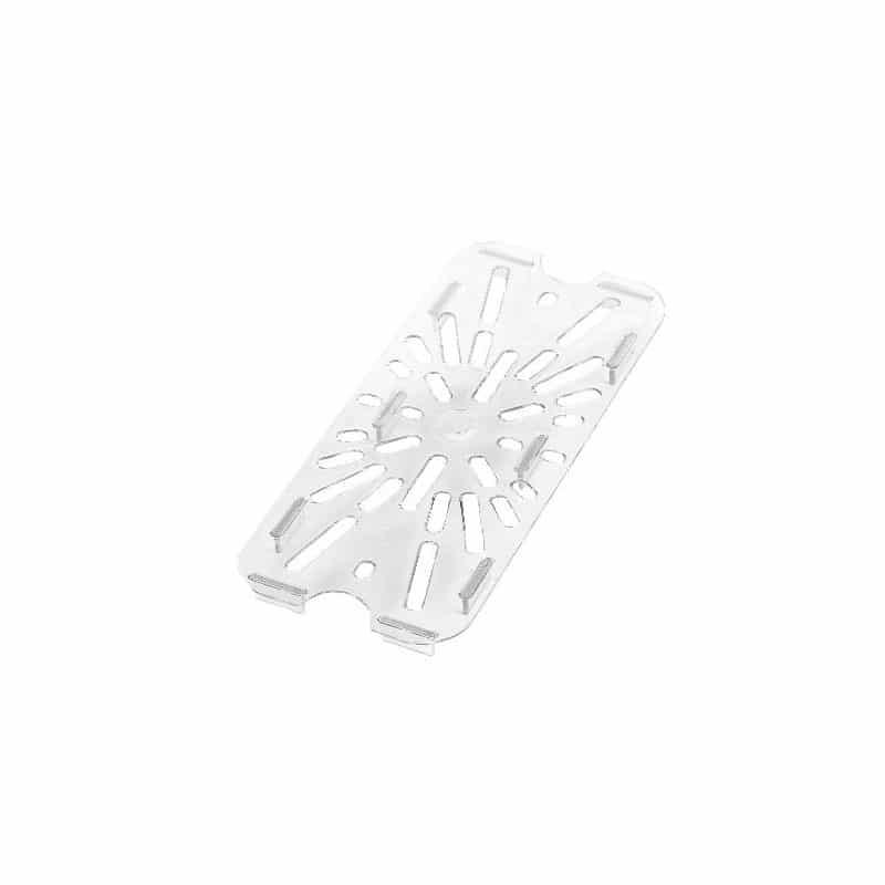 fondo perforado gn 1/4 de policarbonato transparente