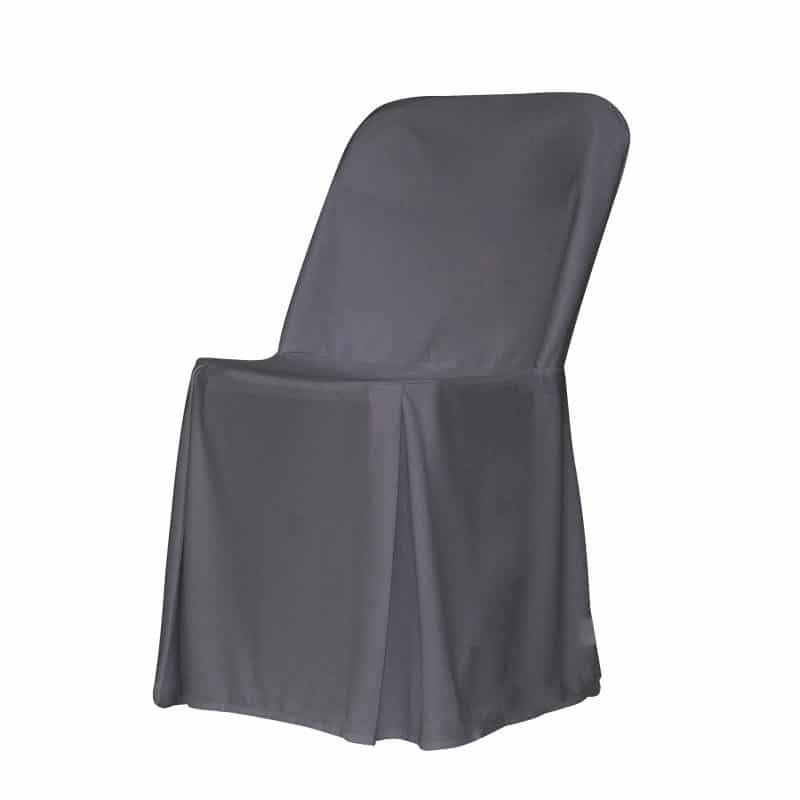 funda clasica antracita para silla alex