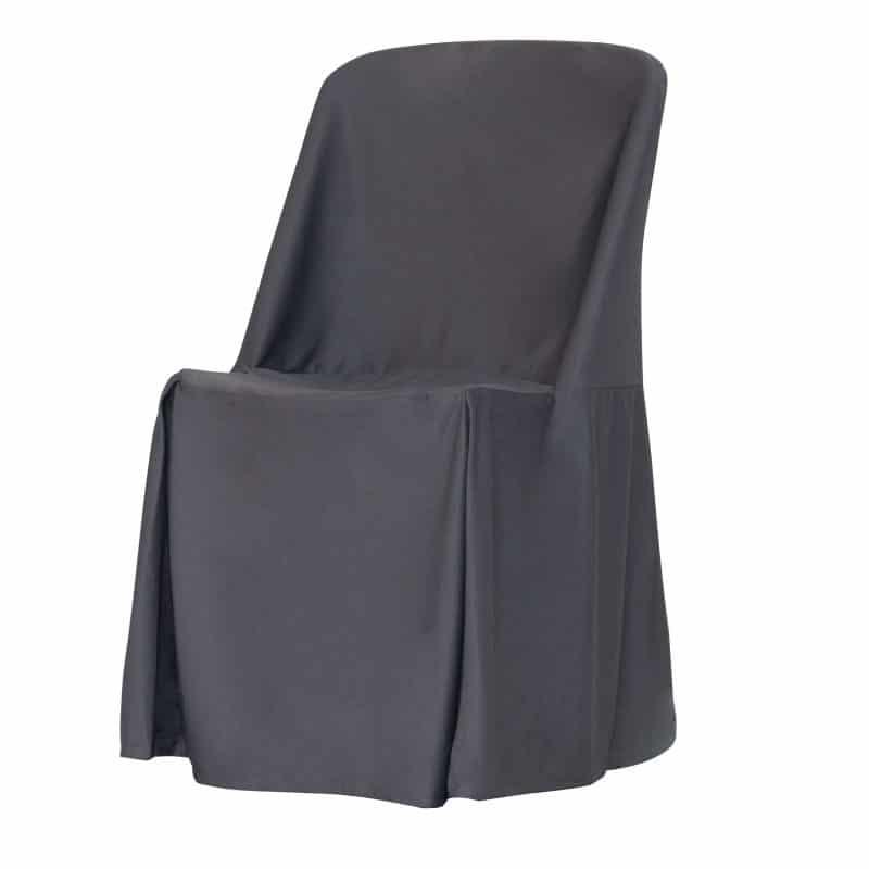 funda clasica antracita para silla norman