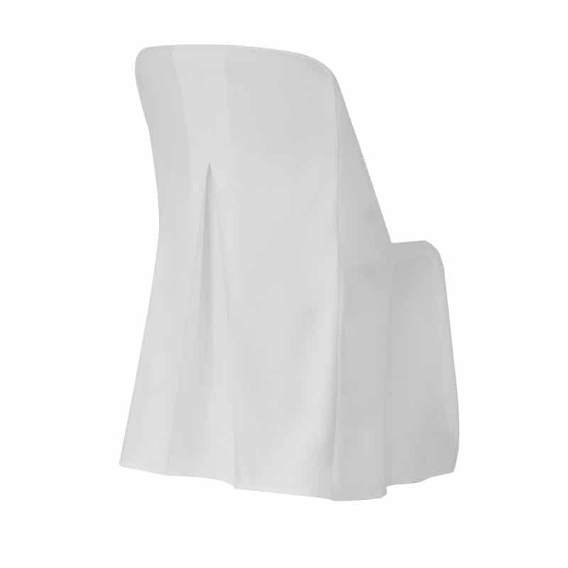 funda clasica blanca para silla norman