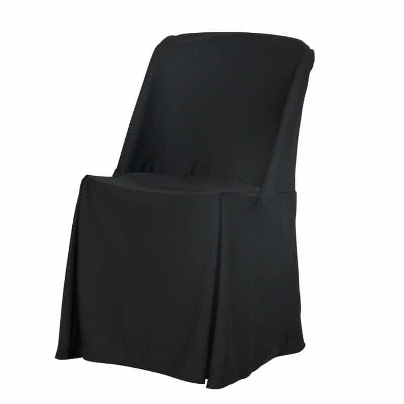 funda clasica negra para silla norman