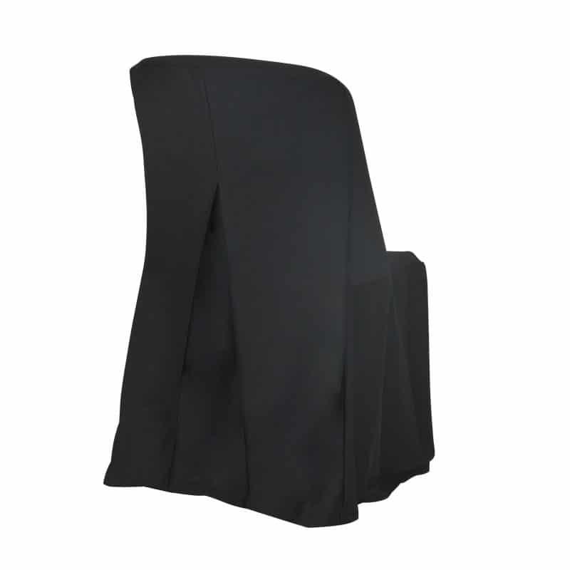 funda clásica negra para silla Norman