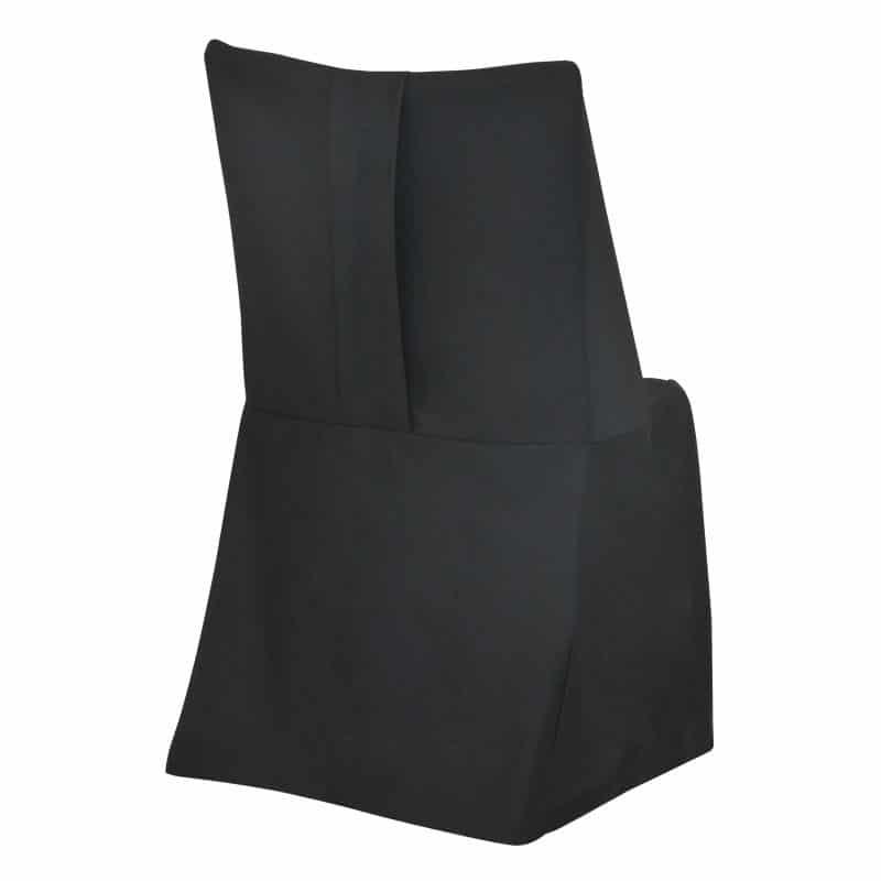 funda clasica negra para silla Otto