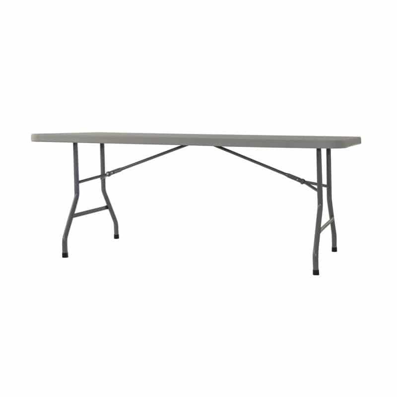 mesa plegable resistente 180cm