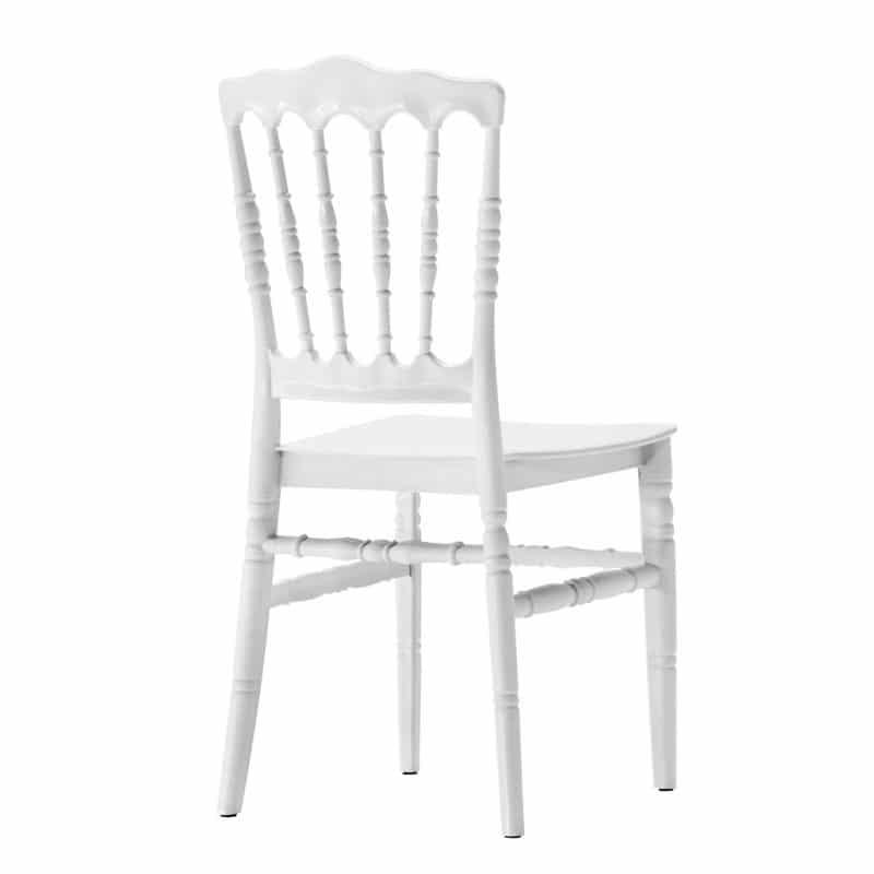 silla napoleon blanca