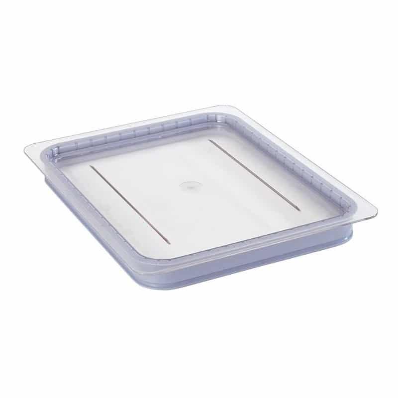tapa hermetica gn 1/2 de policarbonato transparente