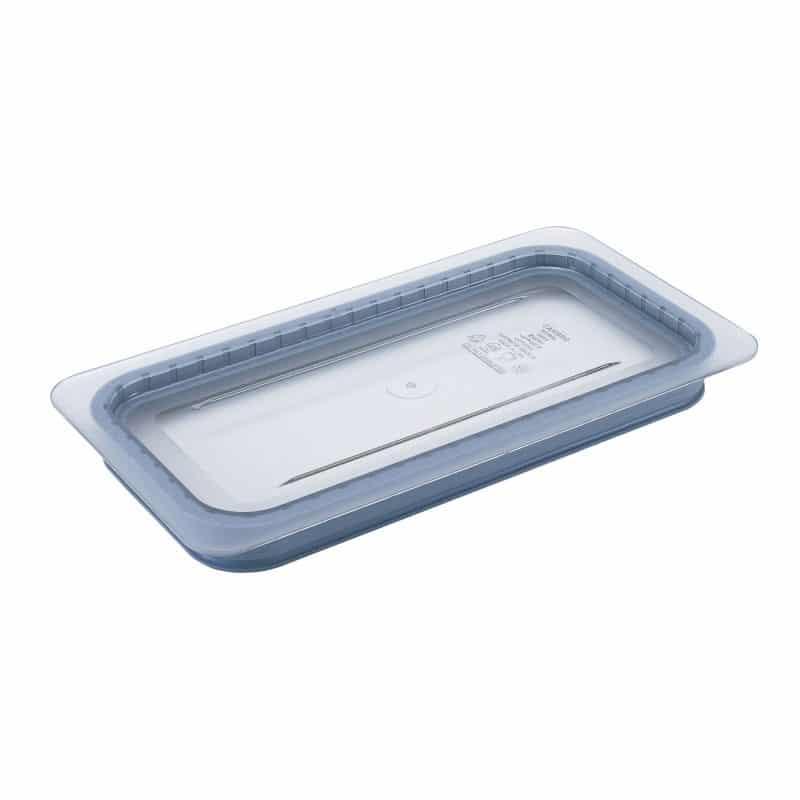tapa hermetica griplip gn 1/3 de policarbonato transparente