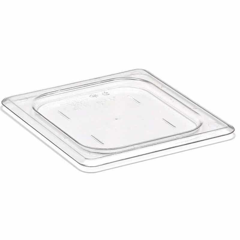 tapa plana GN 1/6 de policarbonato transparente