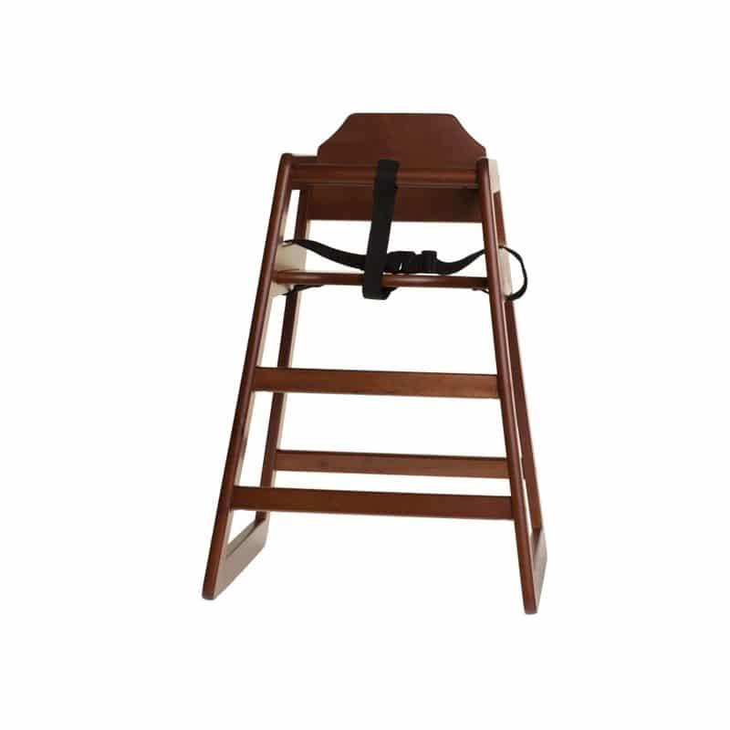 trona de madera nogal