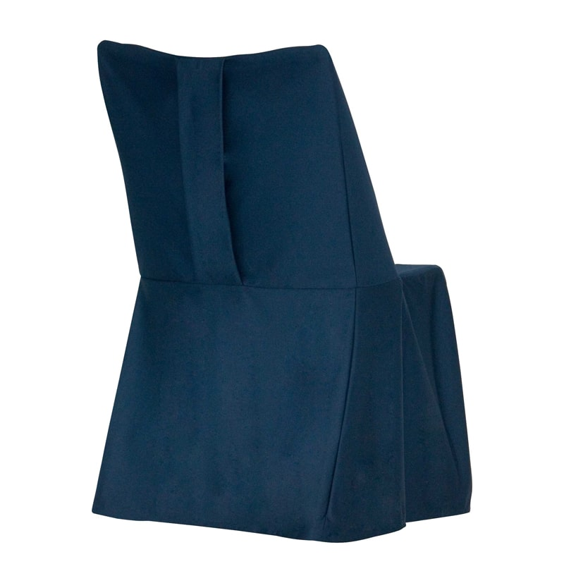 funda clasica para silla Otto azul