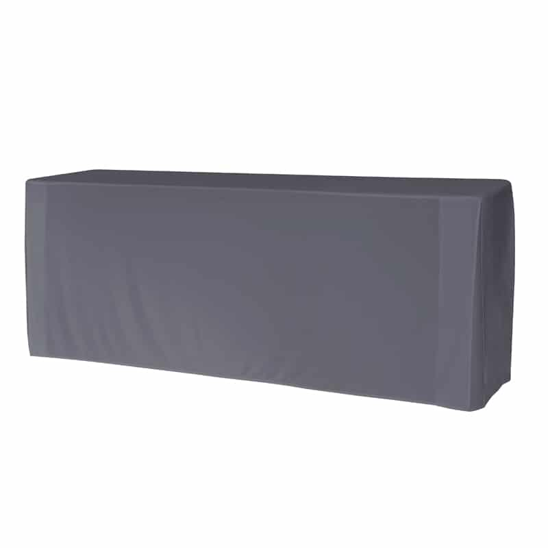 funda lisa para mesa M183 color gris antracita