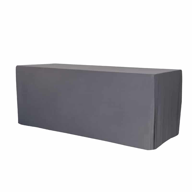 funda lisa para mesa xl180 color gris antracita