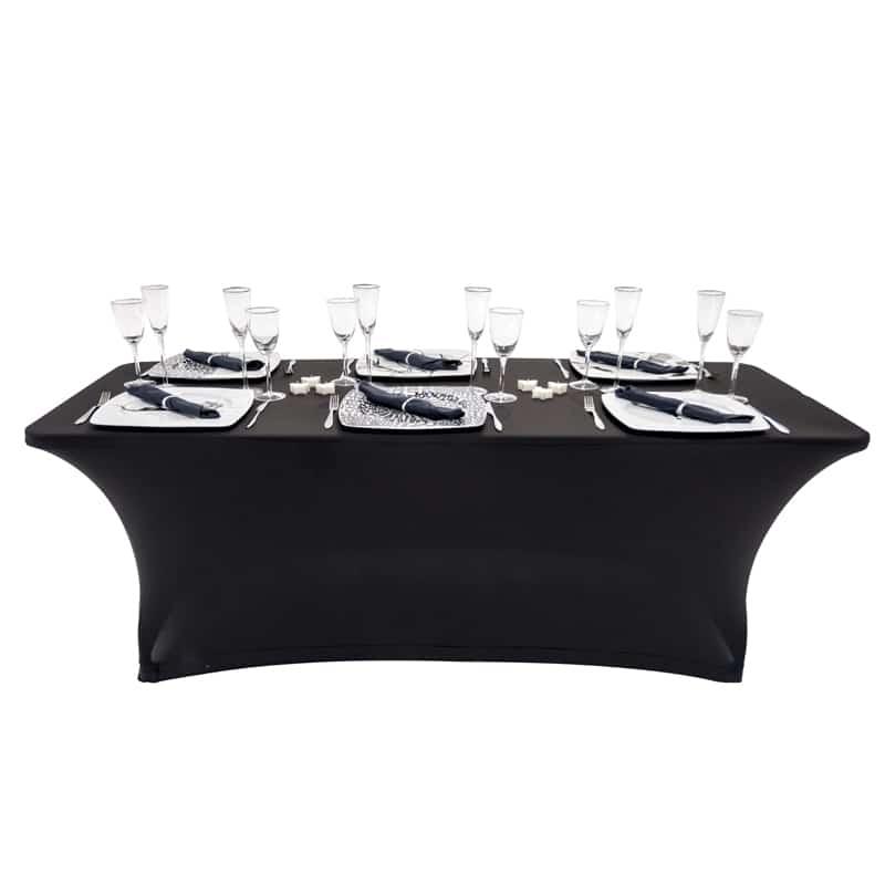 funda elastica para mesa Oskar Halff180 color negro
