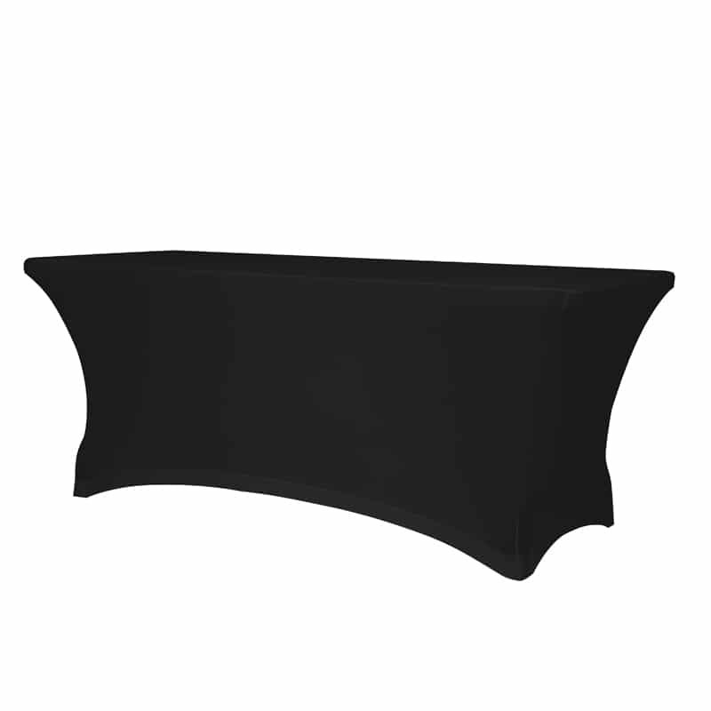funda elastica para mesa XL240 color negro