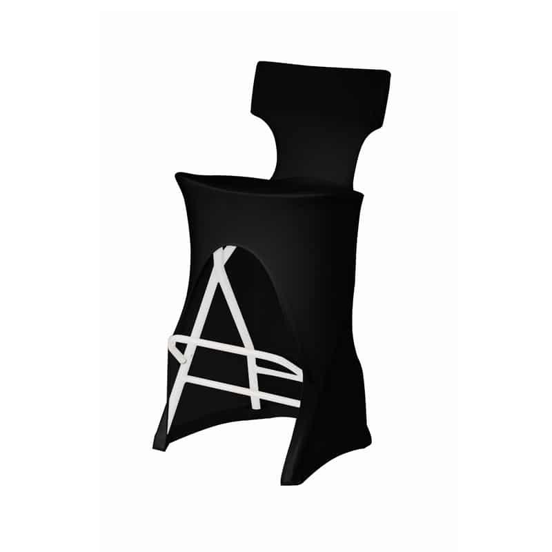 funda elastica para taburete Alvar color negro