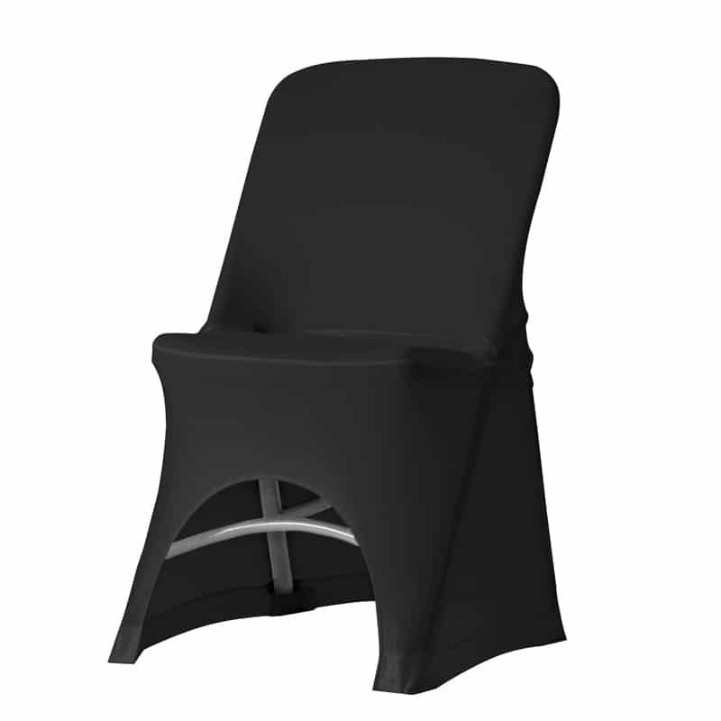 funda elastica negra para silla Norman